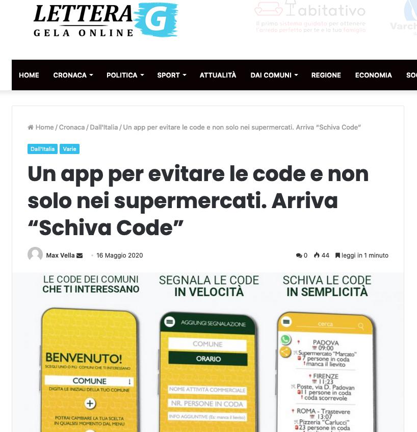 Lettera G - Gela On Line